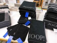 Joop Handtuch Classic Doubleface 1600 schwarz 50 X 100 Cm