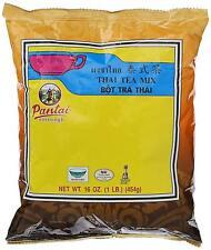 Pantai Thai Tea Leaves Mix (Pantai) Thai Iced Tea 1 lbs 16oz Bag
