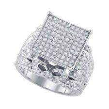Anillos de joyería blanca diamante diamante