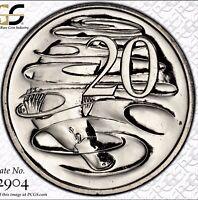 2015 20 Cent Australian Decimal Coin PCGS Grade Uncirculated MS66 Platypus