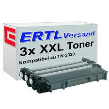 3 XL Toner für Brother TN-2320 TN-2330 TN-2345 TN-2350 TN-2356 TN-2370 TN-2380