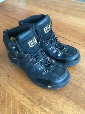 Caterpillar Men's Threshold Waterproof Steel Toe Work Boot, Black, Size 10