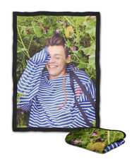 Harry Styles Floral Another Man Blanket ( KIDS / MEDIUM / LARGE )