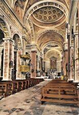 Cartolina Viadana Chiesa Santa Maria del Castello Interno