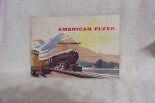 AMERICAN FLYER TRAIN BROCHURE / 1955 ?
