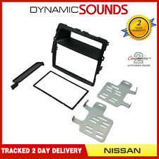 CT23NS14 Double Din Car Stereo Fascia Surround Black For Nissan, Opel, Renault
