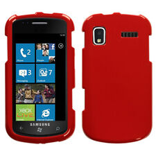 For i917 Focus Solid Flaming Red Hard Snap On Phone Protector Cover Case