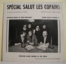 33T SPECIAL SALUT LES COPAINS N° 79 Thierry LE LURON -FOUCAULT TOPALOFF Europe 1