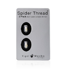 Spider Thread by Yigal Mesika (2 Piece Pack) Ultimate Invisible Thread for Magic