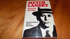 MEYER LANSKY Mogul of the Mob Mafia Crime Criminal Mastermind Mobster Book