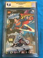 Silver Surfer/Superman #1 - Marvel DC - CGC SS 9.6 NM+ - Signed by Ron Lim