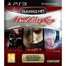 Devil May Cry HD Collection - Ps3 Video Console Game Action Adventure