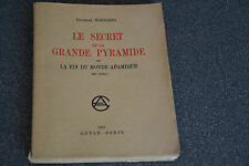 Le Secret de la Grande Pyramide 1951 G. Barbarin (H2)