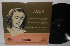 LW 5095 Bach Fantasia & Fugue In G Minor + Toccata & Fugue In D Minor Demessieux