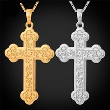 Yellow Gold Plated Religious Costume Necklaces & Pendants