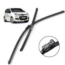 2Pcs/Set Xukey Front Windshield Wiper Blades Set For Fiat Panda MK3 2013-2019 17