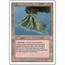 MTG REVISED (3RD EDITION) * Volcanic Island - Condition: Excellent