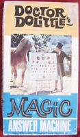 SEALED Vintage 1967 DOCTOR DOLITTLE'S MAGIC ANSWER MACHINE Movie Board Game