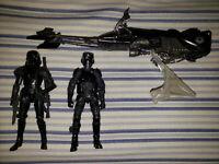 Hasbro Star Wars Black Series Imperial Shadow Squadron Speeder Bike LOOSE