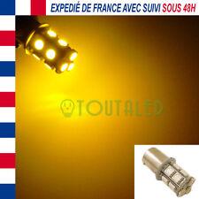 AMPOULE LAMPE 12V BA15S P21W 13 LED 5050 ORANGE TUNING CLIGNOTANT REPETITEUR