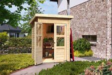 14 mm Gartenhaus Johannesburg 2 naturbelassen