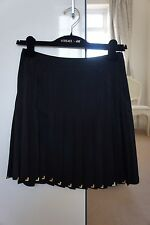 Versace For H&M Black Silk Skirt Size EUR 36 / UK8