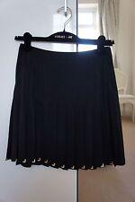 Seda Versace Para H&M Negro Falda Talla 36 euros/UK8