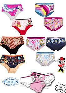 Girls Boxer Shorts Underwear Briefs Cotton Knickers Age 2 3 4 5 6 7 8 Yrs BNWT