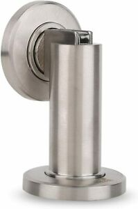 Magnetic Wall Stop  Stainless steel satin Includes fixing materials