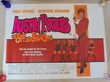 AUSTIN POWERS THE SPY WHO SHAGGED ME ORIGINAL 1999 ROLLED CINEMA POSTER Myers