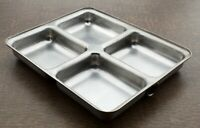 Stainless Steel Divided Bento Lunch Box Food Container