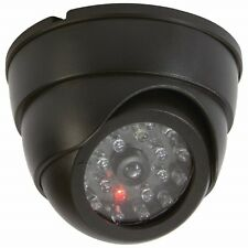 Mitaki-Japan Non-Functioning Dummy Mini Dome Security Camera -Blinking Red Light