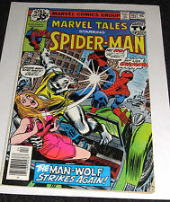 Marvel Tales #102 from Apr. 1979 - Spider-Man -Man-Wolf
