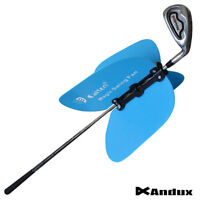 Golf Pinwheel Swing Fan Power Speed Practice Training Grip Aid Removable on Club