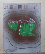 Walkin' By The River - 1940 sheet music - by Robert Sour & Una Mae Carlisle
