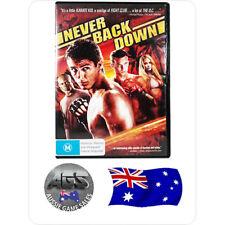 Never Back Down (DVD) - Region 4 - Sean Faris - Djimon Hounsou - Amber Heard