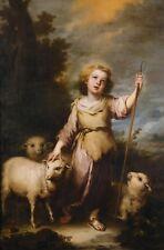 "Oil Painting repro Bartolome Esteban Murillo THE GOOD SHEPHERD 24""x36"""
