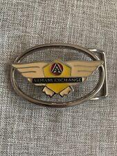 Armani Exchange Belt Buckle Wings