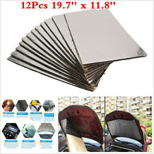 12Pcs Firewall Sound Deadener Car Heat Shield Insulation Deadening Material Mat