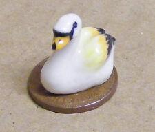 Échelle 1:12 S Multicolore Céramique Swan tumdee Maison de Poupées Ornement Oiseau C