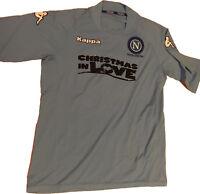 maglia Napoli match worn 2004 2005 Kappa Christmas in love TIM CUP vintage shirt