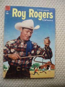 Roy Rogers Comic; Dell, Vol. 1, No. 66; June 1953