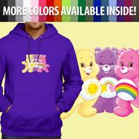 Care Bears Bedtime Bear Sleepy Sweet Dreams Pullover Sweatshirt Hoodie Sweater