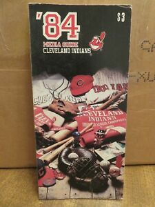 PAIR of CLEVELAND INDIANS 1984 MEDIA GUIDES