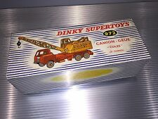 Vintage Dinky Supertoys / MIB + Rare Box / Lorry Mounted Coles Crane  / No. 972