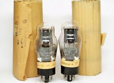 6J5g Visseaux LEGENDARY MATCHED PAIR TUBE SELECT for French interior government