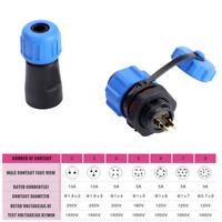 IP68 SP13 Waterproof Aviation Plug Socket Connector 2 3 4 5 6 7 9 Pin Hot Sale