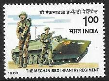 INDIA SG1300 1988 INFANTRY REGIMENT MNH