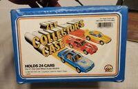 Vintage 1982 Zee Toys Car Collector's Case Vinyl Carry Case Hotwheels Matchbox