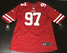 Nike San Francisco 49ers Nick Bosa 97 Mens Jersey M Gym Red 888157-615